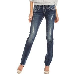 Rock Revival Noelle distressed skinny jeans 👖